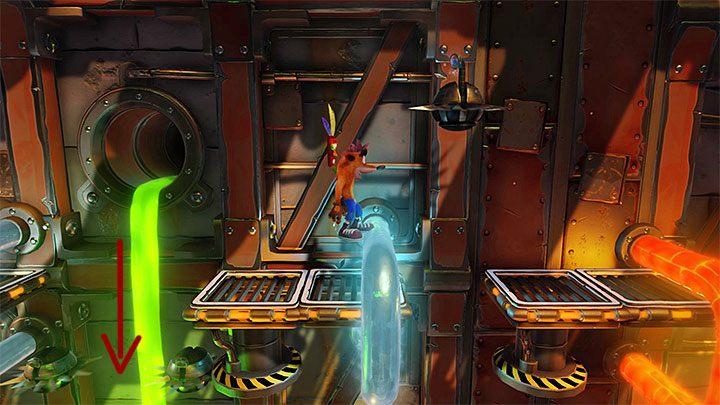 Praktycznie od momentu rozpoczęcia tego etapu będziesz musiał radzić sobie z różnymi rodzajami robotów - Heavy Machinery | Cortex Island | Opis przejścia - Crash Bandicoot N. Sane Trilogy - poradnik do gry