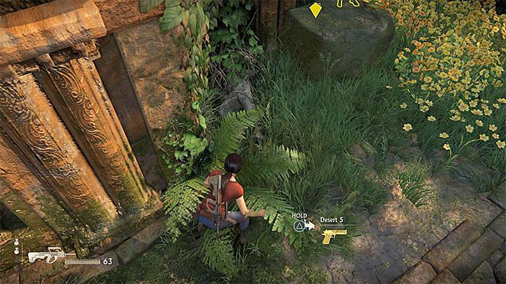 Przykładowa złota broń - Lista trofeów w Uncharted: Zaginione dziedzictwo - Uncharted: Zaginione Dziedzictwo - poradnik do gry
