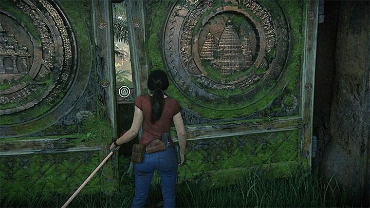 Dotrzyj z wyciągarką do bramy - 3 - Powrót do korzeni | Opis przejścia - Uncharted: Zaginione Dziedzictwo - poradnik do gry
