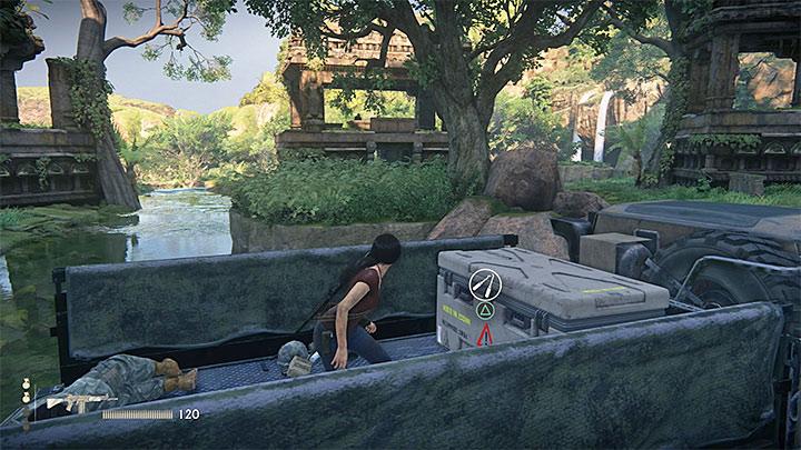 Podczas pobytu w dużych ruinach możesz odblokować dwa sekrety - 3 - Powrót do korzeni | Opis przejścia - Uncharted: Zaginione Dziedzictwo - poradnik do gry