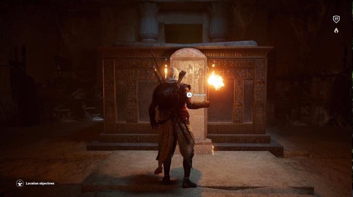 1 - Grobowiec Chefrena - Tomb of the Khafre | Giza | Grobowce - Assassins Creed Origins - poradnik do gry