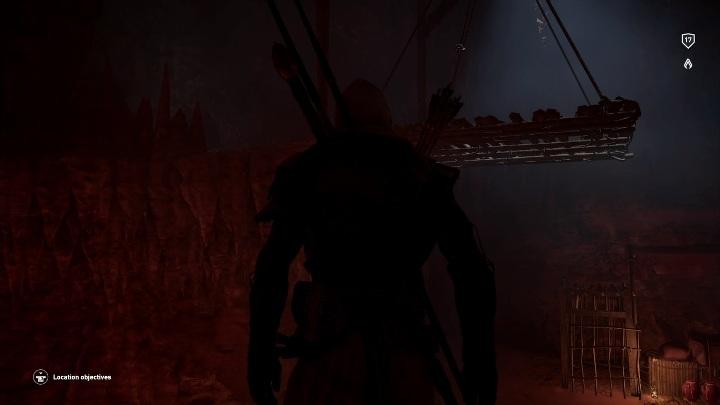 Gdy na jednej części równoważni ułożysz 9 przedmiotów możesz wskoczyć na drugą część - Grobowiec Wyznawcy Thota - Adorer of Thoth Tomb | Giza | Grobowce - Assassins Creed Origins - poradnik do gry
