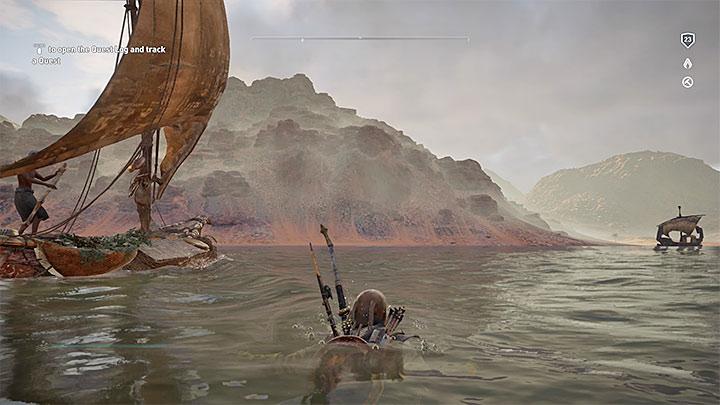 Treść zagadki sugeruje, że papirus znajduje się we wschodniej części prowincji Ineb-Hedjet Nome, przy czym tak na dobrą sprawę odnajduje się go na granicy pomiędzy obszarami Ineb-Hedjet Nome i Memphis - Papirusy w Memphis | Assassins Creed Origins - Assassins Creed Origins - poradnik do gry