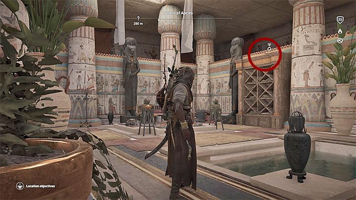 Papirus ten odnajduje się w pałacu Palace of Apries w prowincji Memphis - Papirusy w Memphis | Assassins Creed Origins - Assassins Creed Origins - poradnik do gry