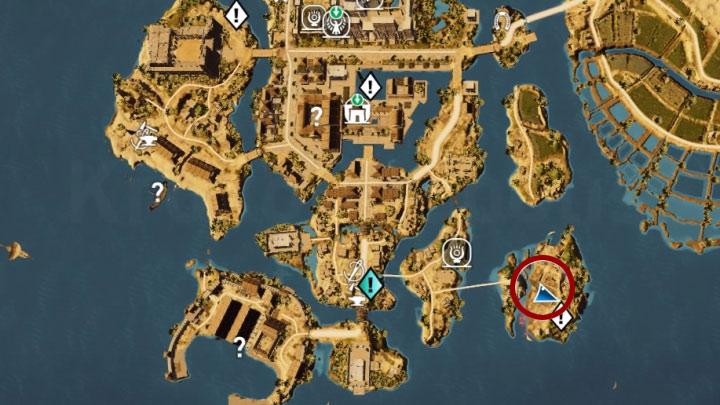 Dotrzyj osobiście Bayekiem do zbiorników - Papirusy w Memphis | Assassins Creed Origins - Assassins Creed Origins - poradnik do gry