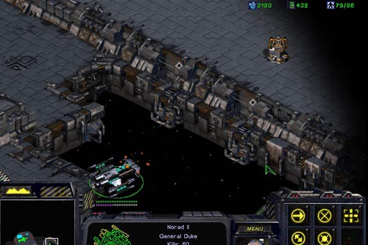 Battlecruiser jest uzbrojony w działo Yamato, które może zniszczyć wieżyczkę wroga jednym strzałem i to z dużej odległości. - Misja 8 - The Big Push | Kampania Terran - StarCraft: Remastered - poradnik do gry