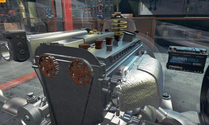 Pod pokrywą dostrzeżesz jeszcze dwa zardzewiałe koła do wymiany - Zlecenie 2 - Royale Crown   Opis przejścia Car Mechanic Simulator 2018 - Car Mechanic Simulator 2018 - poradnik do gry