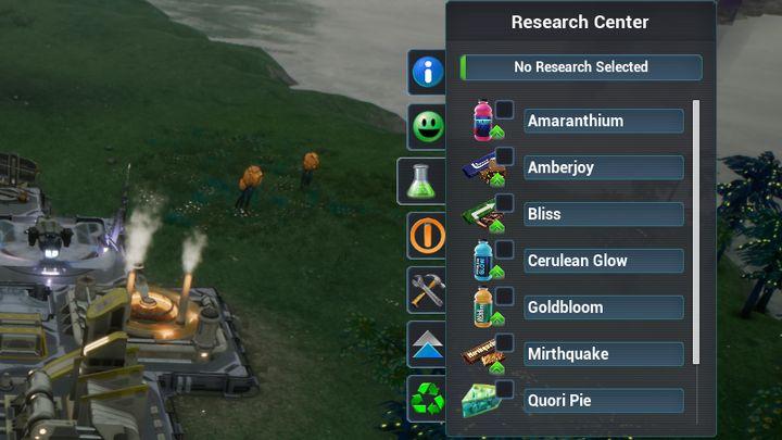 Podstawowa lista badań. - Badania | Podstawy - Aven Colony - poradnik do gry