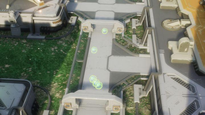 Zarodniki rozproszone przez wentylator, przemieszczają się samoistnie po kolonii. - Zagrożenia | Podstawy - Aven Colony - poradnik do gry
