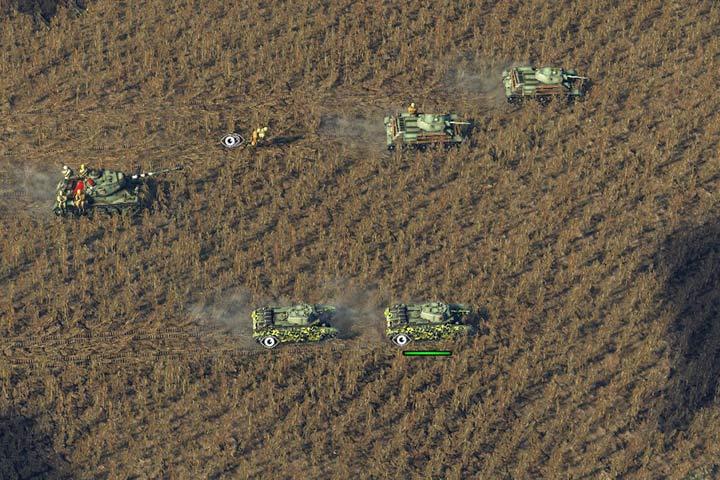 Czołgi to trzon uderzeniowy twojej armii - Czołgi i lekkie pojazdy opancerzone | Typy wojsk - Sudden Strike 4 - poradnik do gry