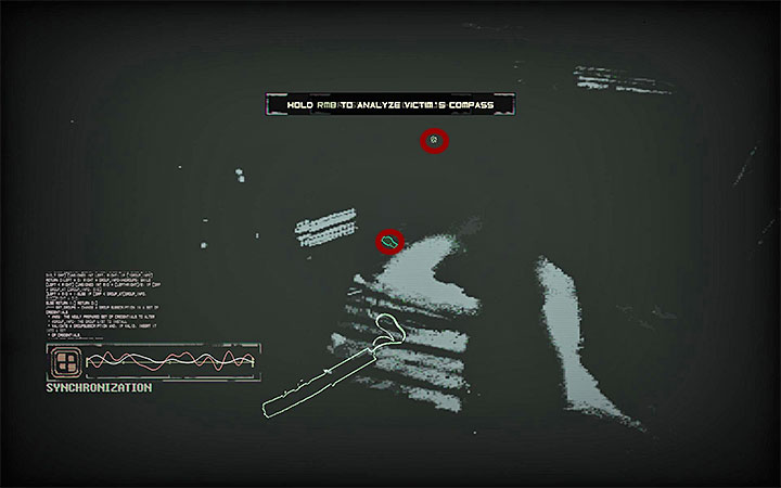 Przełącz się teraz dla odmiany w tryb Bio Vision - Zbadanie miejsca zbrodni w mieszkaniu 007 | Opis przejścia - Observer - poradnik do gry