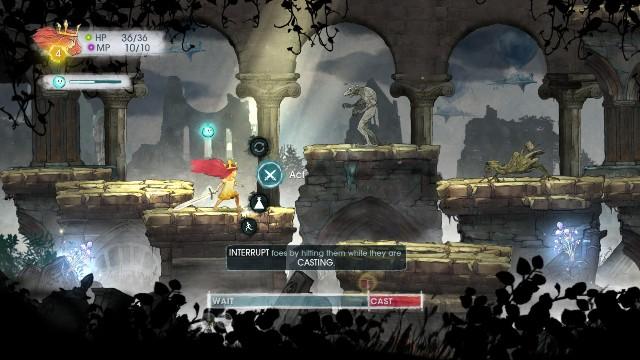 Kolejnego przeciwnika spotkasz w jaskini - Rozdział 2 - The Queen of Light | Opis przejścia - Child of Light - poradnik do gry