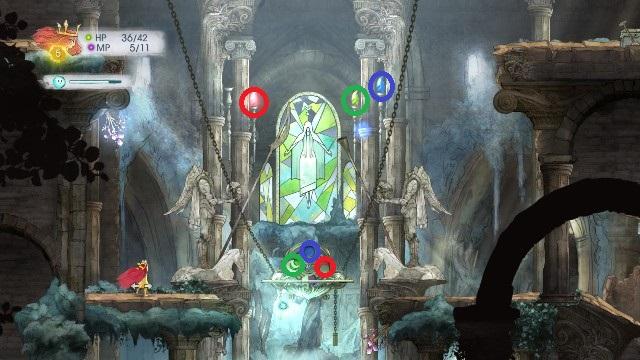 Przed walką z pierwszym bossem w grze czeka cię rozwiązanie zagadki - Rozdział 2 - The Queen of Light | Opis przejścia - Child of Light - poradnik do gry