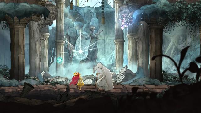 Po wygranej walce z bossem spotkasz Lady of the Forest - Rozdział 2 - The Queen of Light | Opis przejścia - Child of Light - poradnik do gry