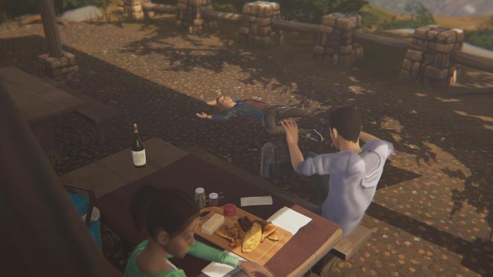 Twoim następnym zadaniem będzie kradzież wina - Rozdział 4 | Solucja | Epizod 1 - Awake - Life Is Strange: Before the Storm - poradnik do gry