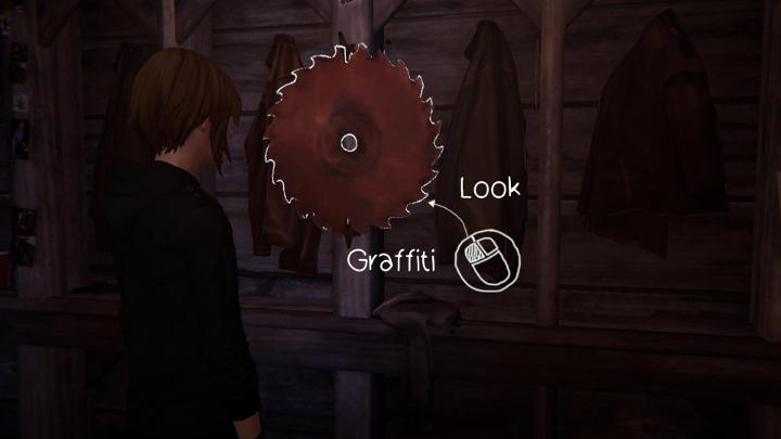 Kolejne graffiti jest dostępne w środku starego młyna, tam gdzie odbywa się koncert - Wszystkie Graffiti | Epizod 1 - Life Is Strange: Before the Storm - poradnik do gry