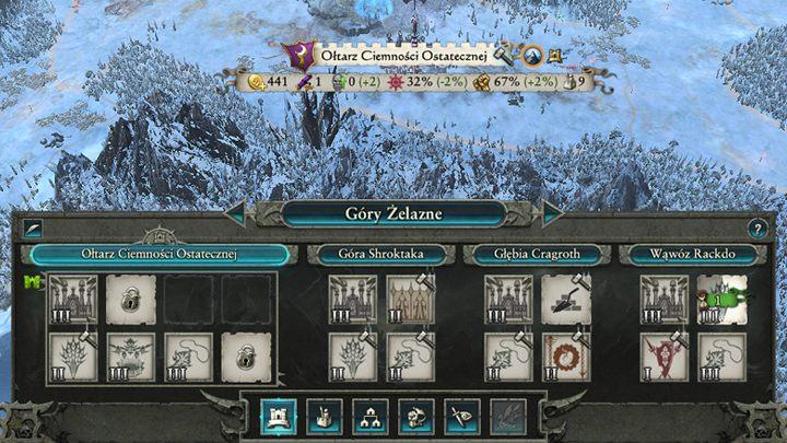 Prawie każda prowincja składa się ze stolicy i od 1 do 3 mniejszych osad. - Rozwój osad i klimat prowincji | Rozgrywka na mapie kampanii - Total War: Warhammer II - poradnik do gry