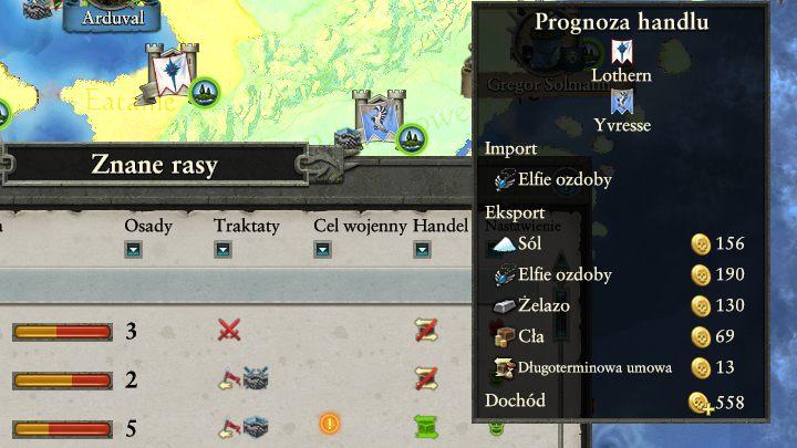 Na handlu możesz sporo zarobić. - Dyplomacja i handel | Rozgrywka na mapie kampanii - Total War: Warhammer II - poradnik do gry