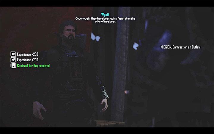 Pierwszy kontrakt odbiera się od Wyatta - Garść kryształków [Ray] | Zadania towarzyszy - Elex - poradnik do gry