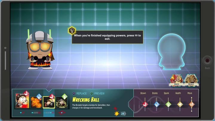 Dzięki posiadaniu dwóch klas postaci, możesz korzystać z umiejętności jednej jak i drugiej - Wojna bohaterów | Opis przejścia - Zadania główne - South Park: The Fractured But Whole - poradnik do gry