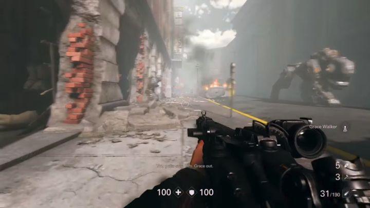 Na początku misji czeka cię walka z Zitadelle. - Misje überdowódców - Nowy Orlean - Wolfenstein II: The New Colossus - poradnik do gry