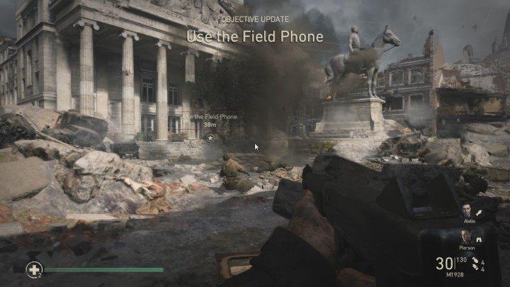 1 - Przypadkowe ofiary - Collateral Damage - Solucja - Call of Duty: WW2 - poradnik do gry