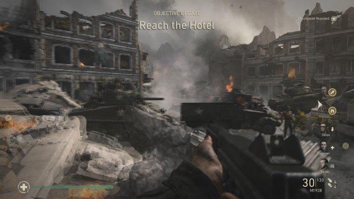 6 - Przypadkowe ofiary - Collateral Damage - Solucja - Call of Duty: WW2 - poradnik do gry