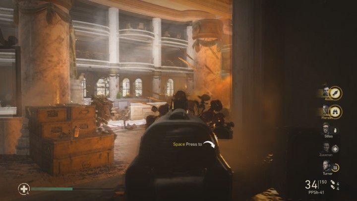 7 - Przypadkowe ofiary - Collateral Damage - Solucja - Call of Duty: WW2 - poradnik do gry