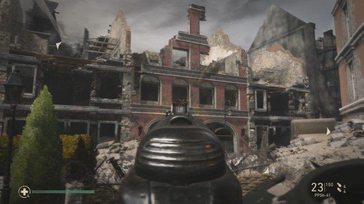 9 - Przypadkowe ofiary - Collateral Damage - Solucja - Call of Duty: WW2 - poradnik do gry