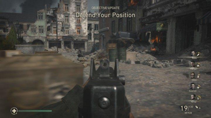 13 - Przypadkowe ofiary - Collateral Damage - Solucja - Call of Duty: WW2 - poradnik do gry
