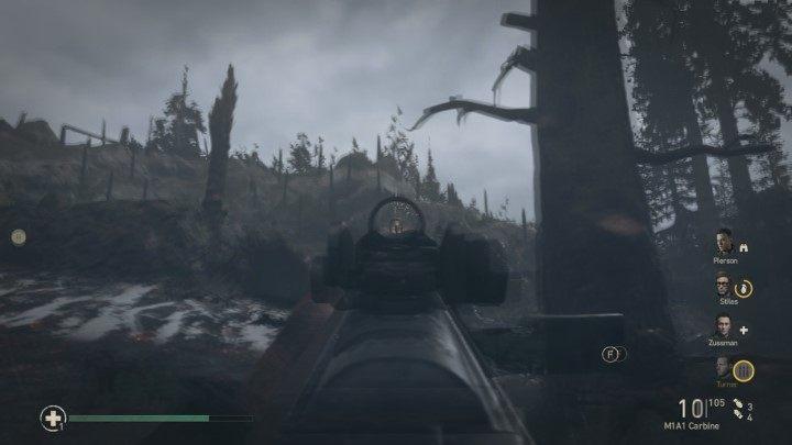 2 - Wzgórze 493 - Hill 493 - Solucja - Call of Duty: WW2 - poradnik do gry