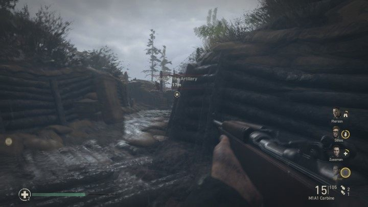 3 - Wzgórze 493 - Hill 493 - Solucja - Call of Duty: WW2 - poradnik do gry