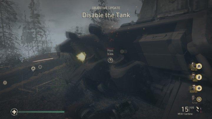 5 - Wzgórze 493 - Hill 493 - Solucja - Call of Duty: WW2 - poradnik do gry