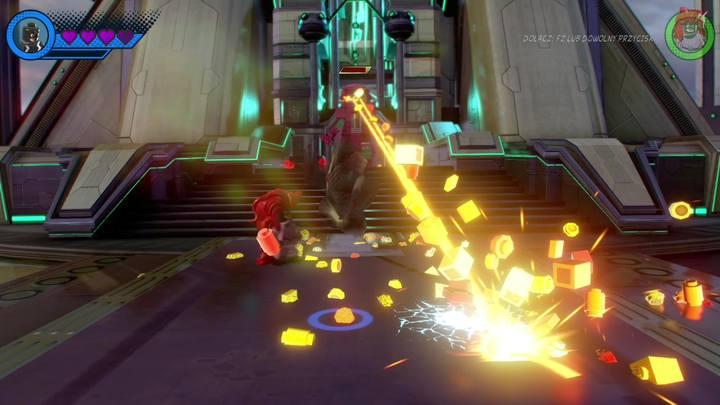 Na początku otrzymasz dwie kolejne postacie, czyli Medusę oraz Black Bolta - Misja 13 - Błądzić jest rzeczą nieludzką | Solucja - LEGO Marvel Super Heroes 2 - poradnik do gry