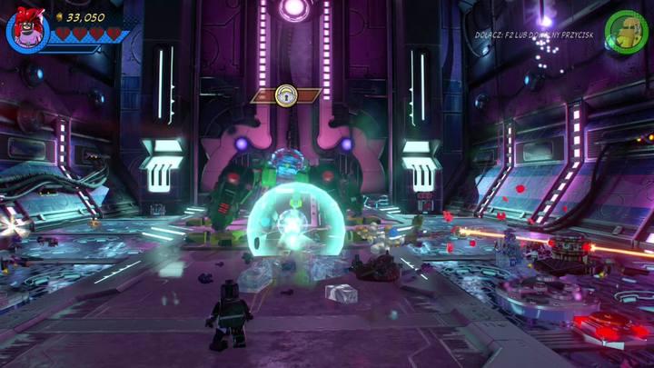 Kolejna część zadania to walka z bossem - Misja 13 - Błądzić jest rzeczą nieludzką | Solucja - LEGO Marvel Super Heroes 2 - poradnik do gry