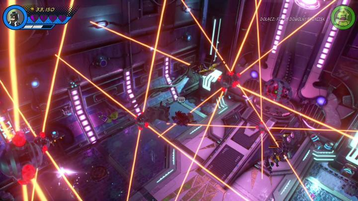 Końcowym etapem walki z Maximusem będzie omijanie pola laserowego - Misja 13 - Błądzić jest rzeczą nieludzką | Solucja - LEGO Marvel Super Heroes 2 - poradnik do gry