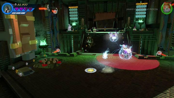 Po zniszczeniu elektrowni pole siłowe po lewej stronie przestanie działać - Misja 14 - Halo, nie rób z tego halo | Solucja - LEGO Marvel Super Heroes 2 - poradnik do gry