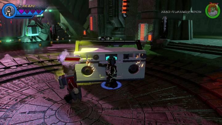 Po przejściu do kolejnej lokacji czekać cię będzie walka z bossem - Misja 14 - Halo, nie rób z tego halo | Solucja - LEGO Marvel Super Heroes 2 - poradnik do gry