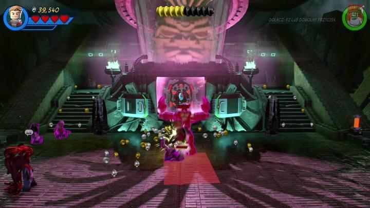 Pokonanie Star-Lorda w pojedynku tanecznym zagwarantuje ci odzyskanie nad nim kontroli - Misja 14 - Halo, nie rób z tego halo | Solucja - LEGO Marvel Super Heroes 2 - poradnik do gry