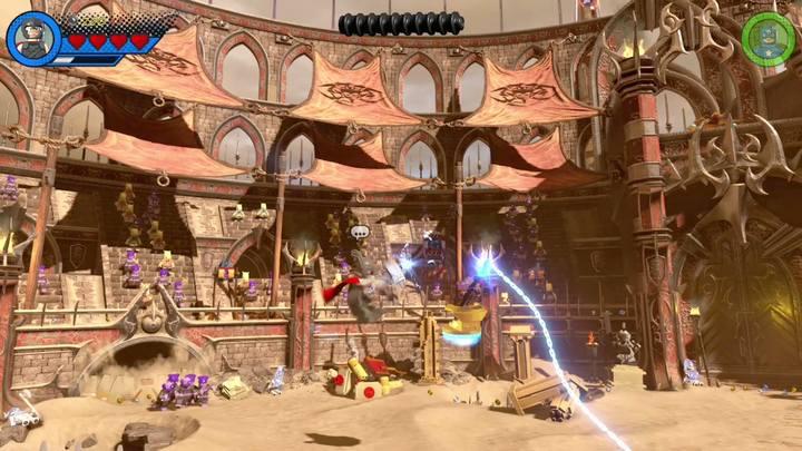 Kolejną misją będzie pokonanie Red Kinga - Misja 15 - Red King i jego ring | Solucja - LEGO Marvel Super Heroes 2 - poradnik do gry