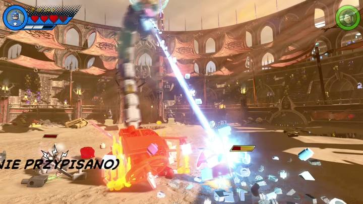 Po pokonaniu trzeciego strażnika czas na walkę z samym Red Kingiem - Misja 15 - Red King i jego ring | Solucja - LEGO Marvel Super Heroes 2 - poradnik do gry