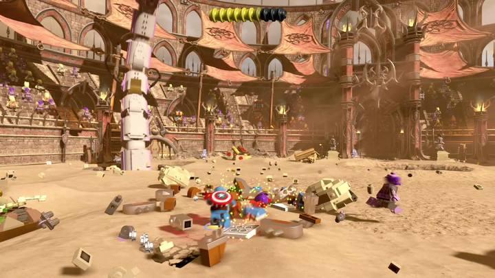 Kolejna faza to kopia poprzedniej - Misja 15 - Red King i jego ring | Solucja - LEGO Marvel Super Heroes 2 - poradnik do gry