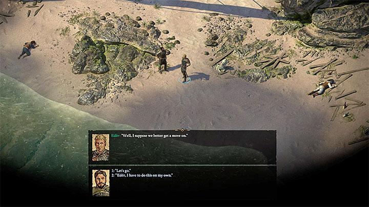 Eder to postać, która dołączy do twojej drużyny na samym początku rozgrywki - nie musisz go nigdzie szukać, a on automatycznie dołączy do grupy - Jak łatwo zrekrutować pierwszych towarzyszy w Pillars of Eternity 2? - Pillars of Eternity 2 Deadfire - poradnik do gry