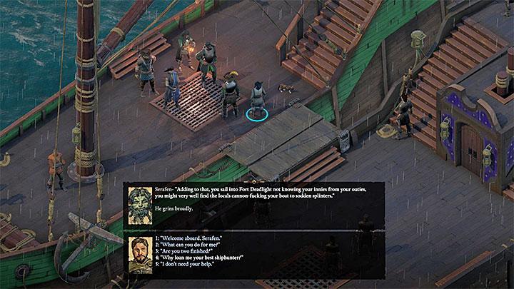 Serafen może dołączyć do twojej drużyny tuż po opuszczeniu pierwszej wyspy - Jak łatwo zrekrutować pierwszych towarzyszy w Pillars of Eternity 2? - Pillars of Eternity 2 Deadfire - poradnik do gry