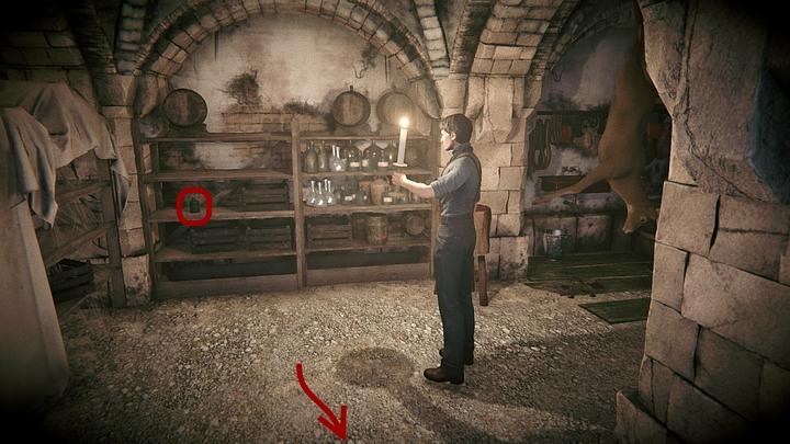Skieruj się do końca korytarzyka, w którym się znajdujesz (w górę ekranu) - Dowiedz się, co wie Ailsa | Solucja Black Mirror - Black Mirror - solucja, poradnik