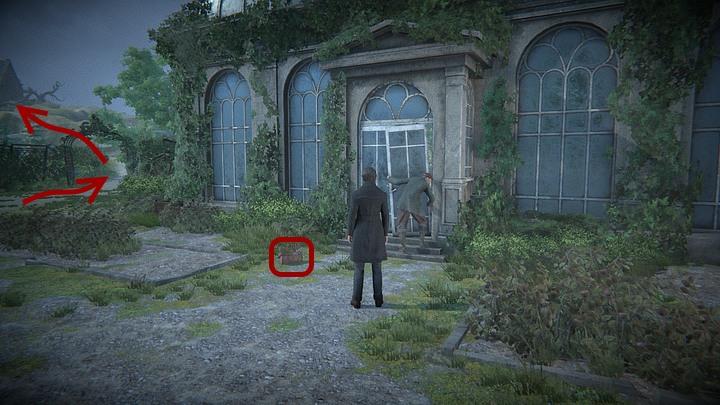 Po drodze Davida zagadnie montujący drzwi w szklarni Rory - Odszukaj grób z obrazu | Solucja Black Mirror - Black Mirror - solucja, poradnik
