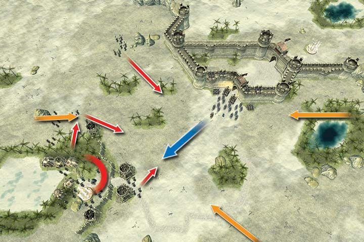 Misja ma swoje plusy i minusy - Misja 19 - Kerdan | Kampania - Hex Commander - poradnik do gry