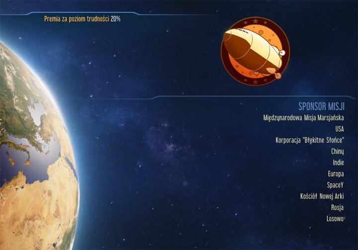 W tej sekcji dowiesz się co nieco o sponsorach i jakie bonusy dają - Wybór sponsora w Surviving Mars | Porady na start - Surviving Mars - poradnik do gry
