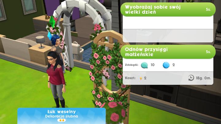 ślub I Wesele żywot Sima The Sims Mobile Poradnik Do Gry