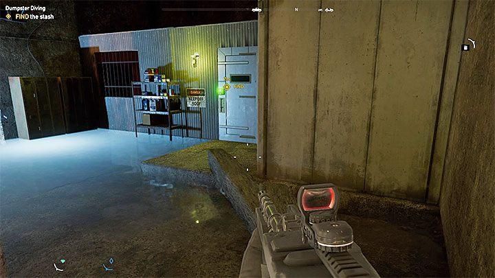 Skarb jest wewnątrz głównego budynku (możesz rozbić siatkę np - Lokacje kultu i skrytki prepperskie | Dolina Holland - Far Cry 5 - poradnik do gry